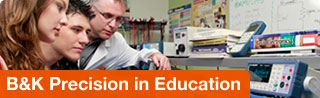 B&K Precision in Education