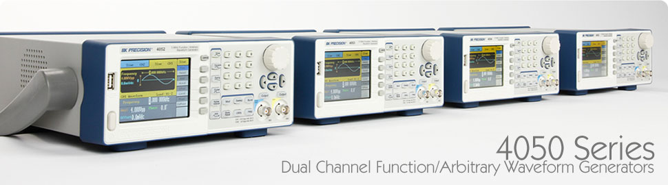 4050 series - Dual Channel Function/Arbitrary Waveform Generators